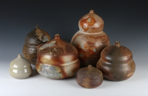 Wood-fired stoneware