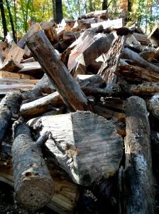 The kiln at Tye River uses 7-8 cords of wood per firing